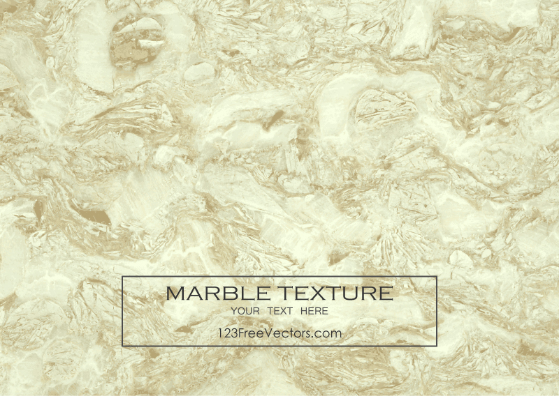 Yellow Marble Background Vector Texture