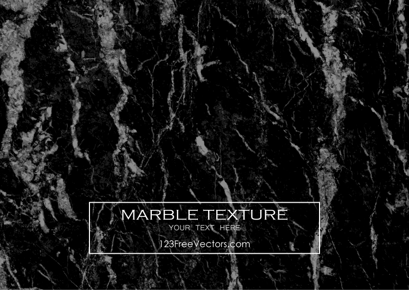 Black Marble Background Vector Texture