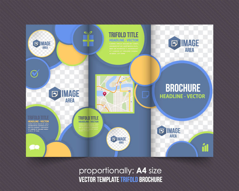 Business Brochure Vector Free