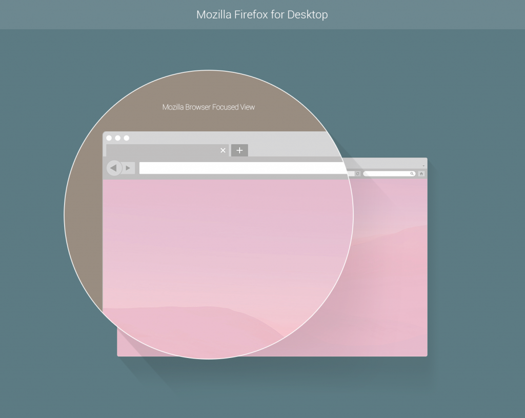 flat vector browser window