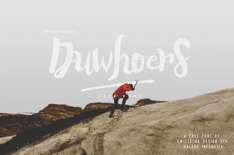 Free Brush Font – Duwhoers