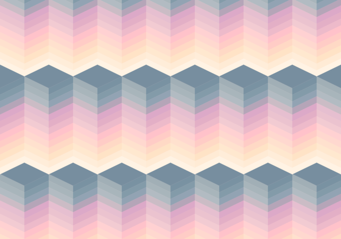 Seamless Pastel Block Pattern