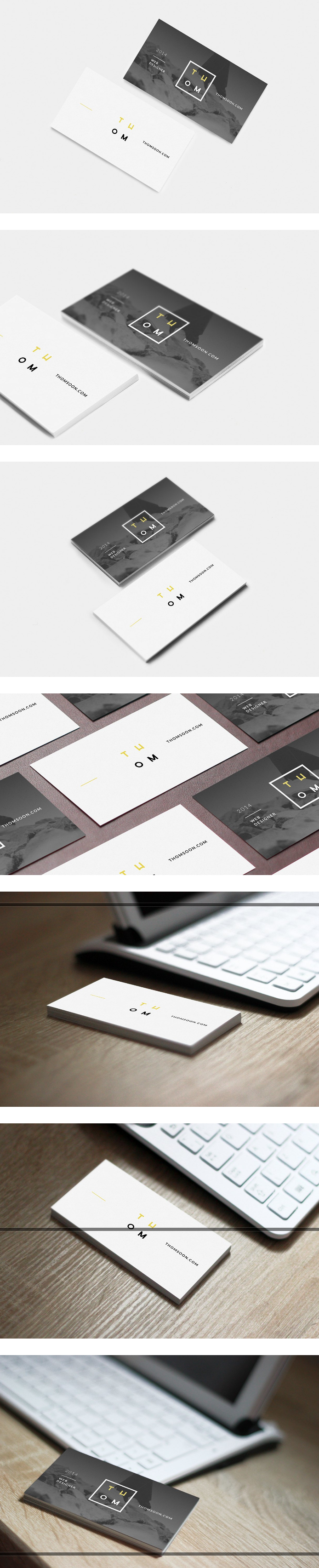 7 Free Modern Business Card Templates