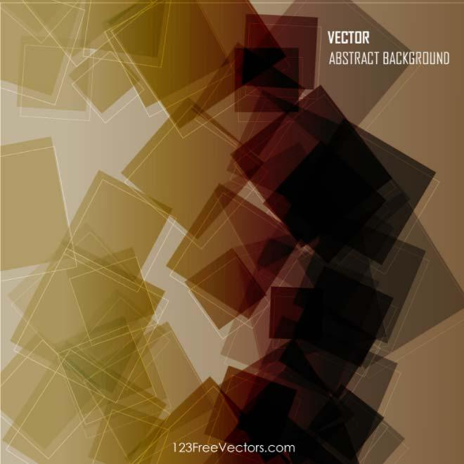 Brown Abstract Vector Background