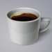 Realistic Coffee Cup with Coffee