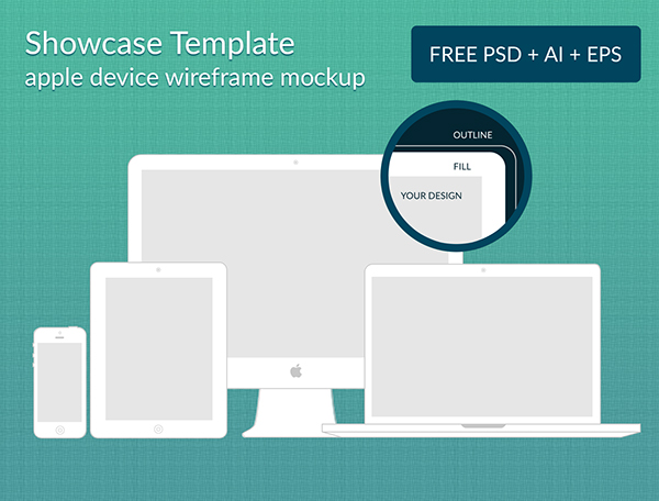 Apple Wireframe Mockups