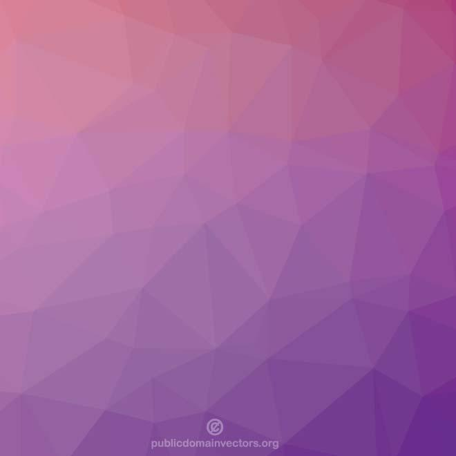 Purple Low Poly Background Pattern