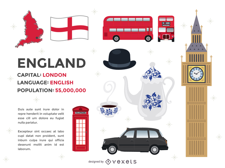 Free London Vector Elements