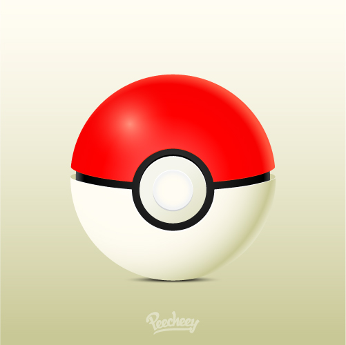 Free Vector Pokeball