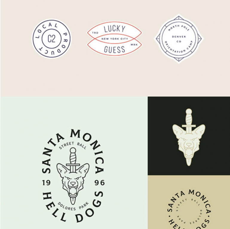 Free Logo Design Kit (Animal, Butcher, Barber, Wolf)